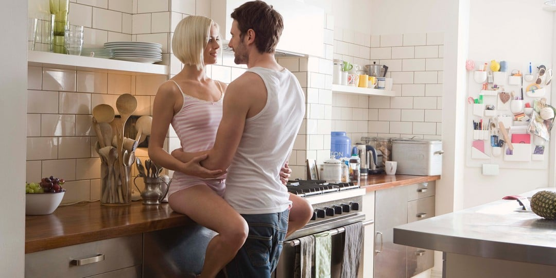 Sex in the Kitchen – How to Drive Your Woman Crazy